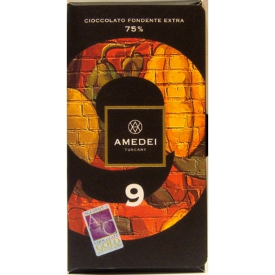 """amedei """"9"""" étcsokoládé"""