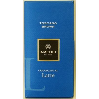 amedei toscano brown tejcsokoládé