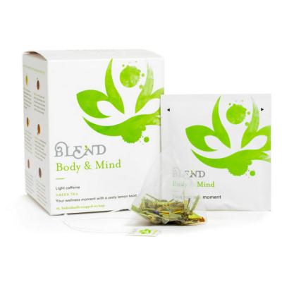blend body&mind zöld tea filteres
