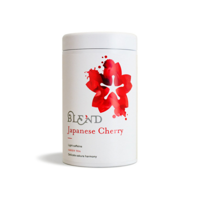 blend japanese cherry zöld tea szálas