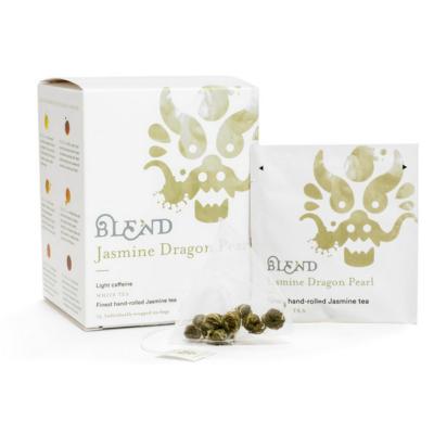 blend jasmine dragonpearl fehér tea filteres