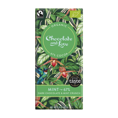 Chocolate & Love mentás csokoládé
