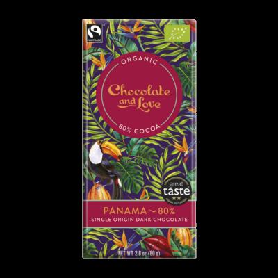 CHOCOLATE & LOVE Panama 80%