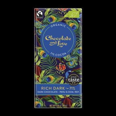 CHOCOLATE & LOVE Rich Dark 71%