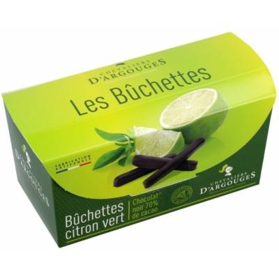 Chevaliers lime citron vert étcsokoládéban
