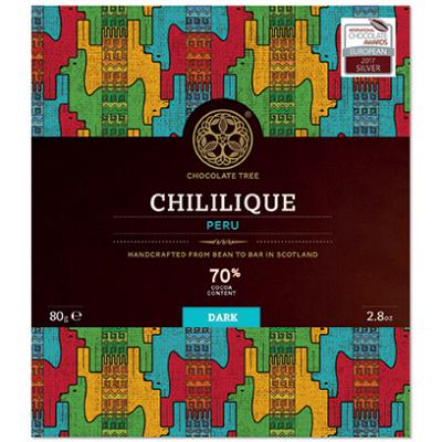 CHOCOLATE TREE Chililique Peru 70%