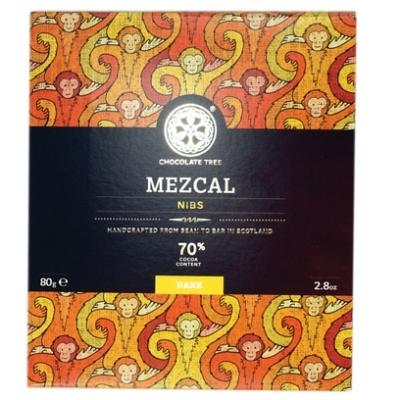 Chocolate Tree Mezcal nibs étcsokoládé