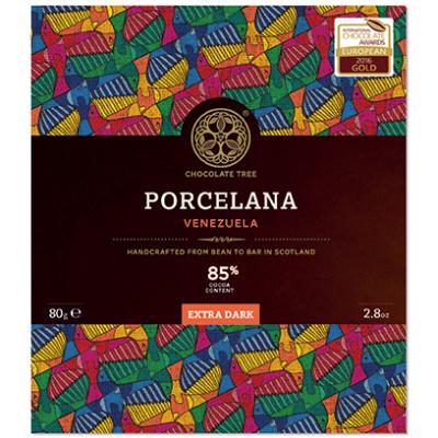 Chocolate Tree Porcelana Venezuela étcsokoládé