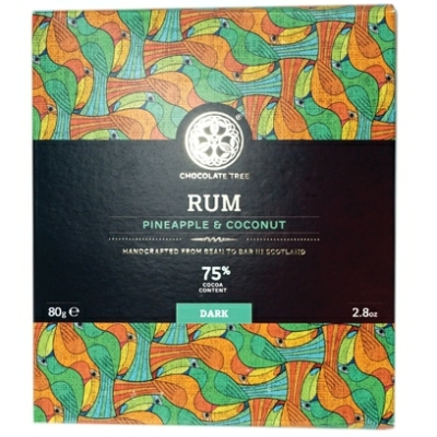 Chocolate Tree Rum ananász kókusz étcsokoládé
