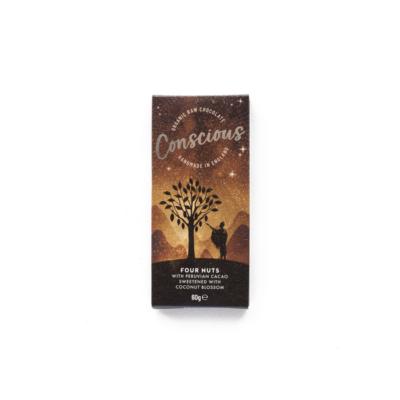 conscious four nuts étcsokoládé