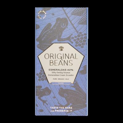original beans esmeraldas tejcsokoládé sós