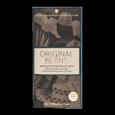 ORIGINAL BEANS ARCHUACO BUSINCHARI étcsokoládé