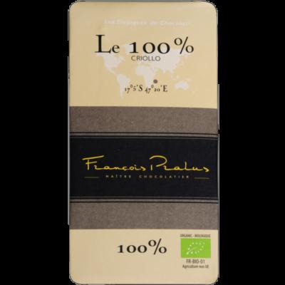 Pralus Le 100% Madagascar étcsokoládé