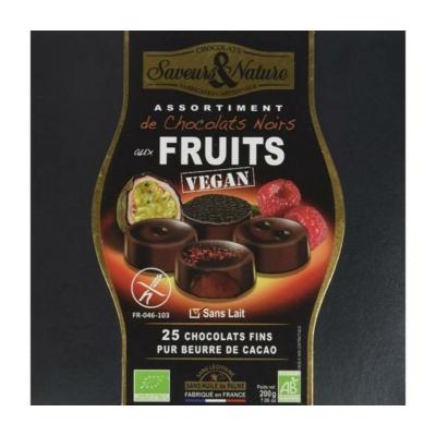 Saveurs&Nature vegán gyümölcsös bonbon