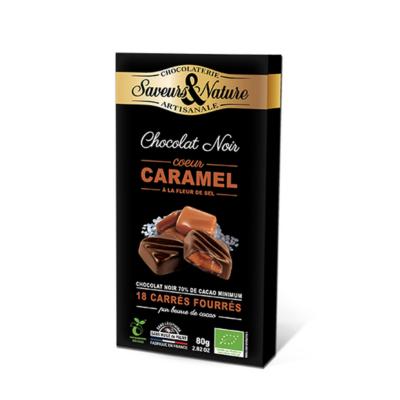 Saveurs&Nature Étcsokoládés bonbon sós karamellkrémmel
