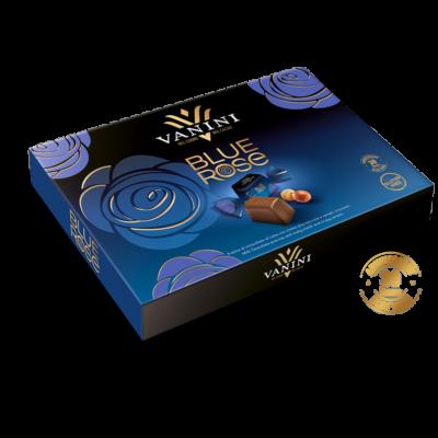 Vanini Blue rose gift box mogyorókrém praliné
